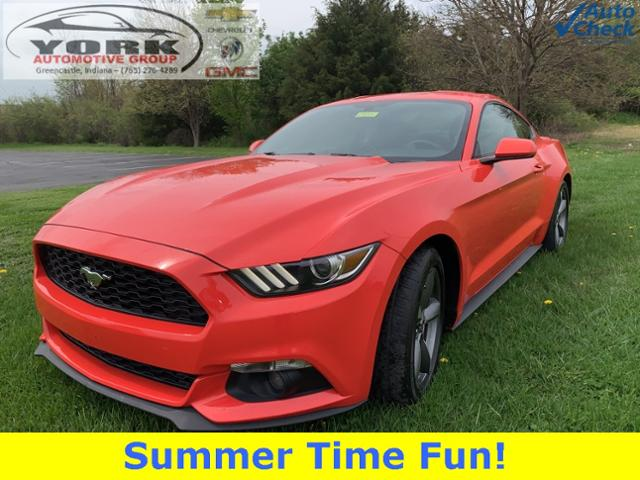 Pre-Owned 2015 Ford Mustang EcoBoost RWD 2D Coupe