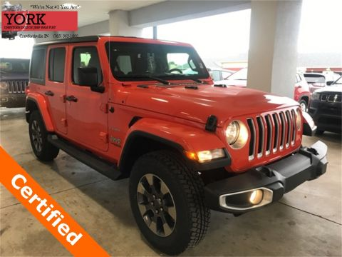 Certified Pre-Owned 2018 Jeep Wrangler Unlimited Sahara 4WD