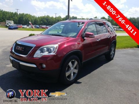 Pre-Owned 2011 GMC Acadia SLT-1