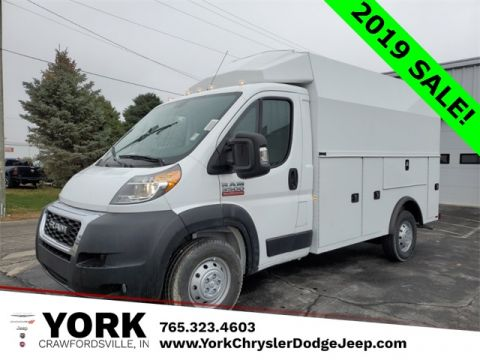New 2019 Ram ProMaster 3500 Cutaway Low Roof FWD Specialty Vehicle
