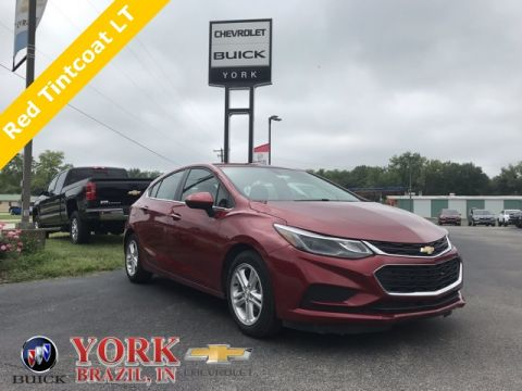 Pre-Owned 2017 Chevrolet Cruze LT FWD 4D Hatchback