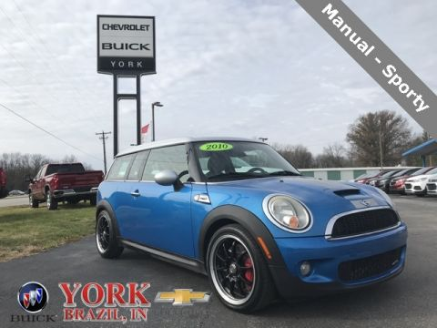 Pre-Owned 2010 MINI John Cooper Works Clubman FWD 2D Coupe